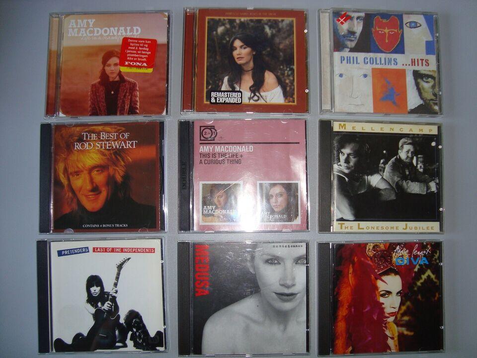 57 CD'er fra forskellige kunstnere: Mange forskellige