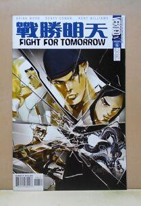 FIGHT-FOR-TOMORROW-6-of-6-Vertigo-2002-03-9-0-VF-NM-Uncertified-Brian-WOOD
