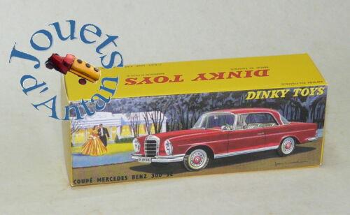 Boite neuve pour Dinky Toys Mercedes 300 SE N° 533