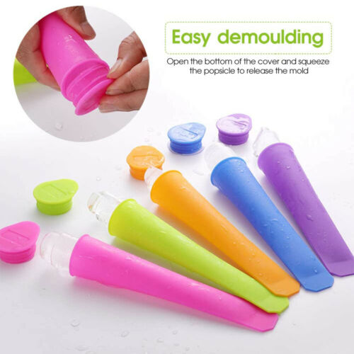 Food Maker Ice Cream Moulds Silicone Popsicle Mold Ice Pop Molds Popsicle Mould
