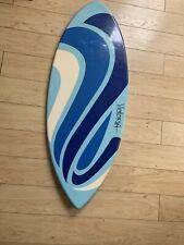 "VICTORIA 42"" Skimboard WAKE BOARD LAGUNA BEACH Blue FIBERGLASS"