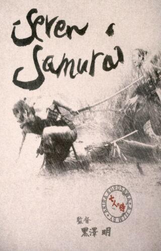 72442 SEVEN SAMURAI Movie Kurosawa Samurai Japanese Wall Print POSTER CA