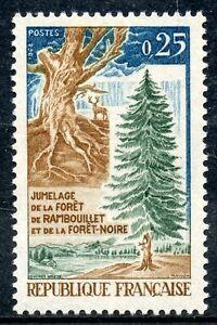 STAMP-TIMBRE-FRANCE-NEUF-N-1561-JUMELAGE-DE-LA-FORET-DE-RAMBOUILLET