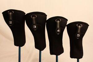 Neuf-epais-Neoprene-2-3-4-5-Set-Homme-Tete-Couvre-hybride-golf-club-headcovers