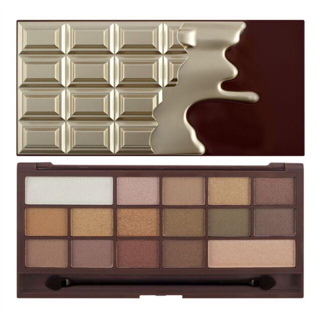 Makeup Revolution Eyeshadow Palette I Heart Makeup Chocolate - Golden Bar