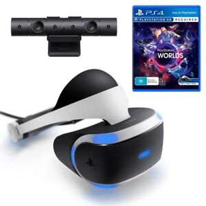 Playstation Vr For Ps4 Vr Worlds Game Ps4 Camera Ps Move Twin