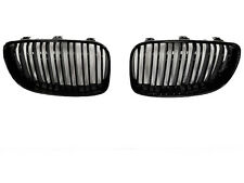 BMW E81 E82 E87 E88 1 Series Kidney Grill Grille Gloss Black LCI 07-12 TWIN BAR