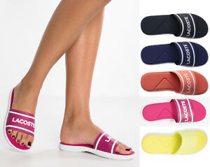 38fe26c498af Image is loading Lacoste-Slides-Womens-Sandals-Lacoste-L-30-Slides-