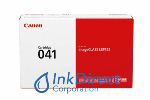 Genuine Canon 0452C001 Canon 041 Toner Cartridge Black LBP 312dn