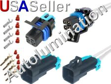 DELPHI Automotive Connectors 2P F BLK 2 PCS 12129142 METRI-PACK 280.1