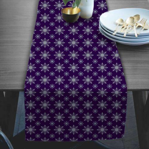 Party Büro Abstrakter Druck Digitale Moderne Taft Seide Tischläufer Tischdecke