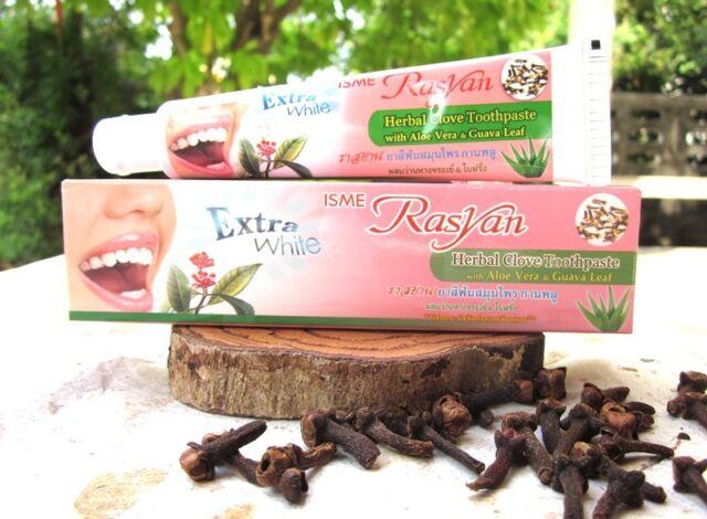 30g ISME RASYAN THAI HERBAL CLOVE TOOTHPASTE  WHITENING TEETH  ANTI  BACTERIA