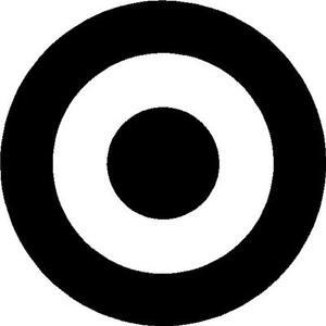 Sunglasses Clipart Black And White Bullseye target vinyl ...