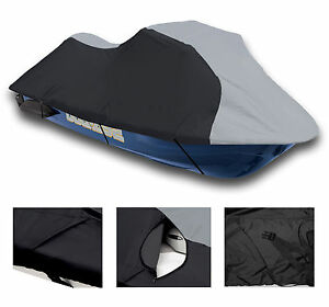 600 DENIER Kawasaki ULTRA 150 130 DI 1998-05 Jet Ski Watercraft Cover 1-2 Seat