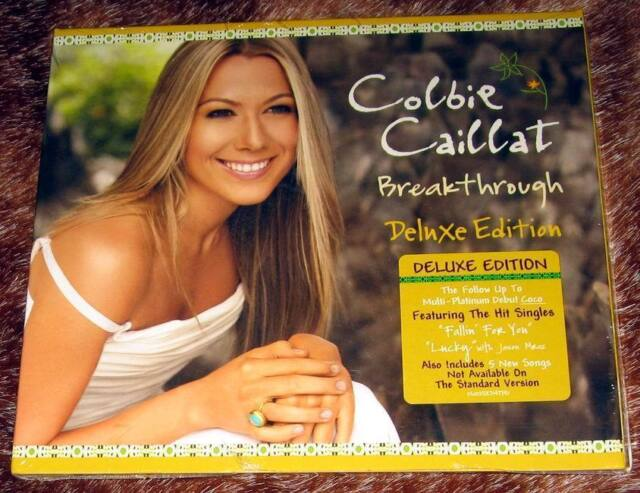 cd colbie caillat breakthrough deluxe edition
