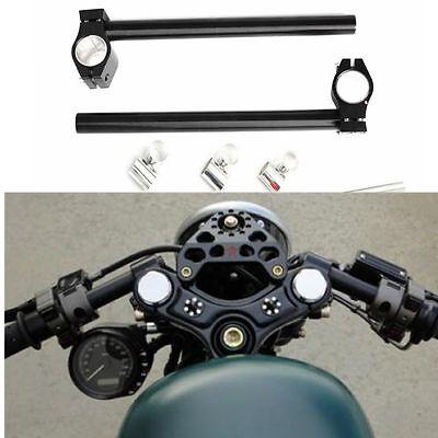Clip On Handle Bar Tube Handlebar Fork For Honda Kawasaki Suzuki Yamaha Ducati