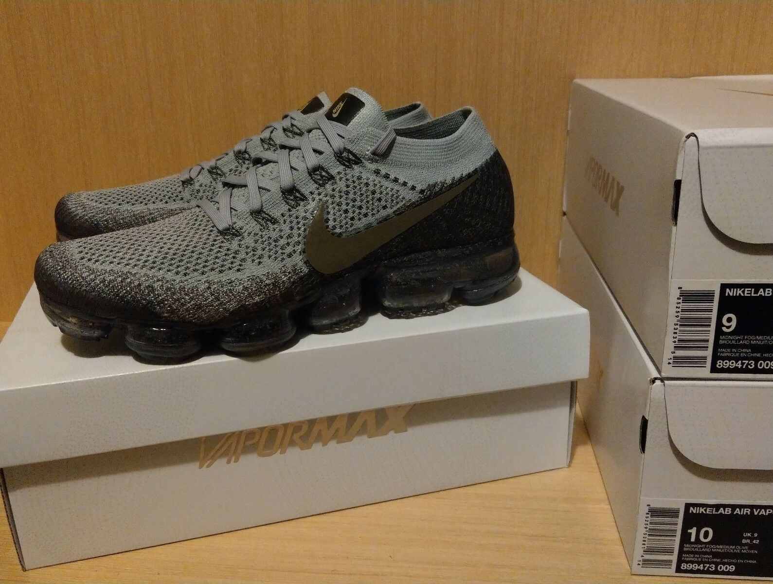 Nike Nikelab Air Vapormax Flyknit 899473-009 US9 ( Vapor Max Racer Trainer React The most popular shoes for men and women