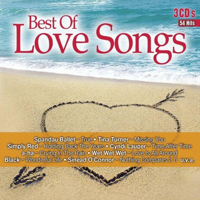 BEST OF LOVE SONGS - SPANDAU BALLET/TINA TURNER/WET WET WET/+    3 CD NEUF
