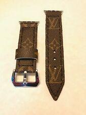 42mm Apple Watch Strap Custom Louis Vuitton LV Handmade 26mm Brand New