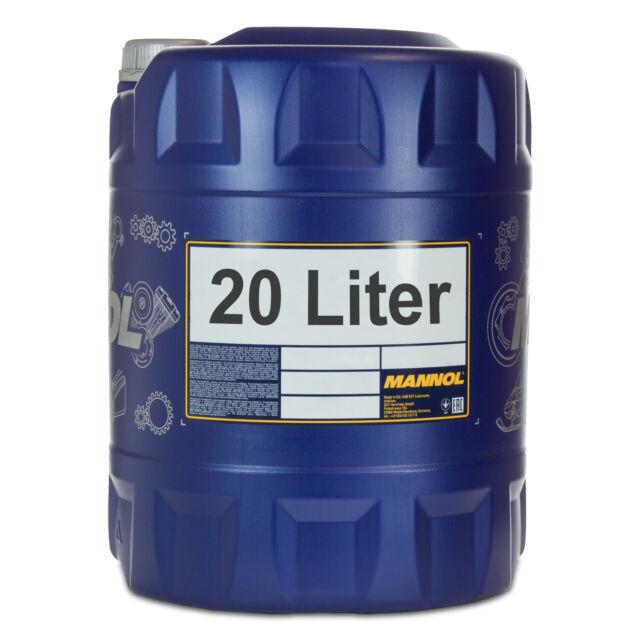 20 (1x20) Litro Mannol SAE 5W-30 Energia Olio Motore VW 502.00/505.00/MB229.3