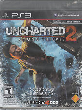 Uncharted 2: Among Thieves (Sony PlayStation 3) NEW Sealed 'Black Label'
