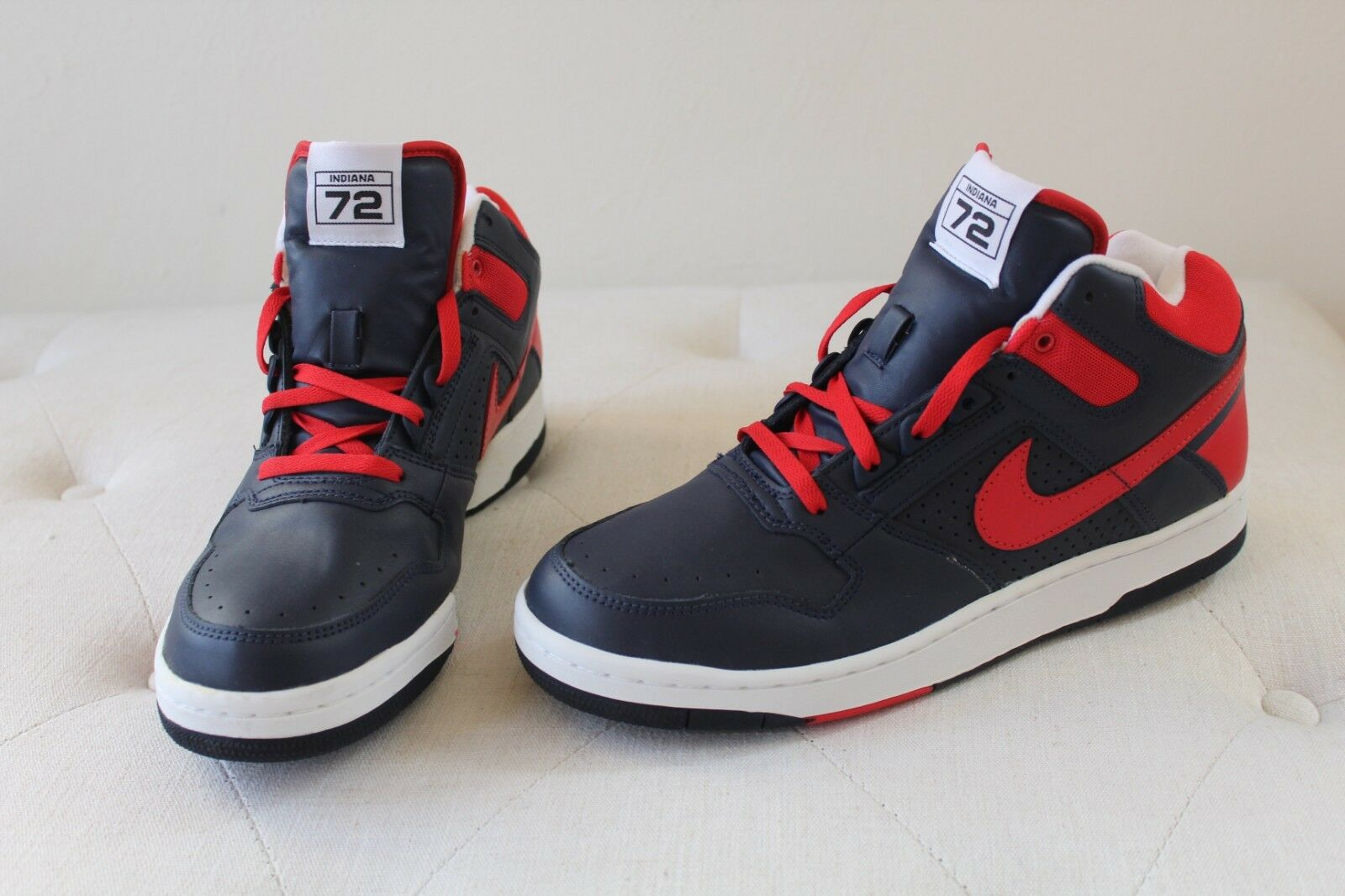 Nike Delta Force 3 4 Indiana 72 College Navy Sport rosso-bianca  307723 461 S. 11.5