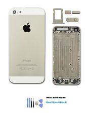 Nuevo iPhone 5s Color Plata Carcasa Cubierta Trasera Carcasa Reemplazo + Kit de Herramientas Gratis