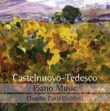 Mario Castelnuovo-Tedesco: Piano Music, New Music