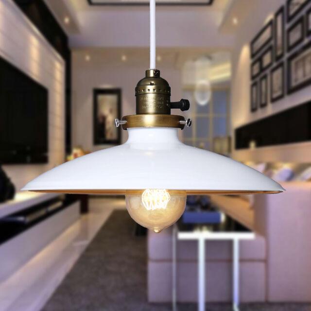 Modern White Ceiling Vintage Retro Chandelier Pendant Lamp Shade Light Fitting