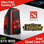 Quad-Core-i7-Gaming-PC-Computer-SSD-1TB-HDD-16-GB-RAM-GT710-GTX-1650-Win-10-WiFi thumbnail 1