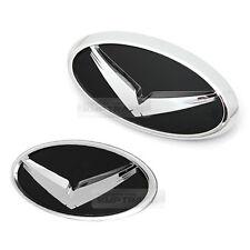 Eagle Dress Up Grille Emblem + Trunk Badge 2EA for HYUNDAI 2011 - 2017 Veloster