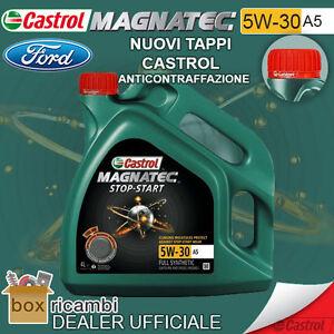 Olio CASTROL MAGNATEC 5W30 A5 Motore DIESEL BENZINA 4 LT Litri - CASTROL ITALIA