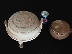 Extremely Old Antique Decorated Han Ding