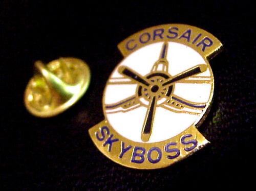CORSAIR SKYBOSS MILITARY AIRPLANE PROPELLER  PIN NEW