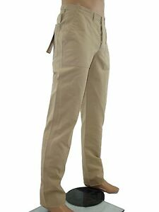 Pantalone-uomo-beige-sigaretta-WEBER-taglia-46-cotone-w-32-s-small