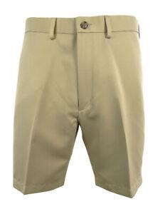 Roundtree /& Yorke Pleated Khaki Shorts Big Man 48 Travel Smart Classic Fit I