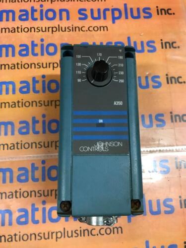 JOHNSON CONTROLS A350AA-2 ELECTRONIC TEMPERATURE CONTROL 90-250F QUANTITY!!