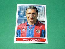 N°116 HRISTO STOICHKOV BARCELONA Barça PANINI EUROPEAN FOOTBALL STARS 1996-1997