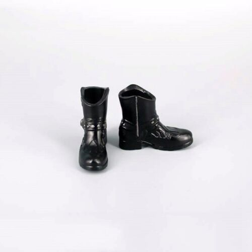 """1//6 Scale Men/'s Leather Boots Shoes For Hot Toys 12/"""" Male Figure Body Clothes"""