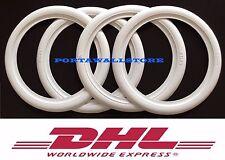 20 White Wall Portawall Tire Insert Trim Set For Car 4x Free Shipping