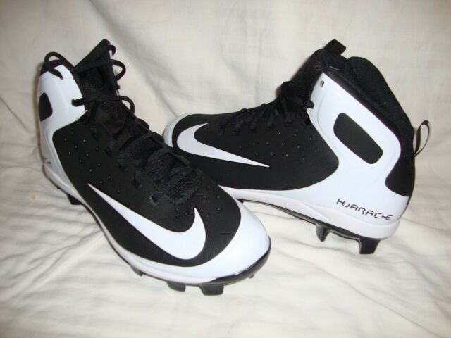 detailed pictures 88bfc 0ea07 New Nike 923433-011 Men s Alpha Huarache Pro Baseball MCS Cleats Size 10.5  Black