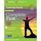 Complete First Student's Book Pack (Student's Book with Answers with CD-ROM, Class Audio CDs (2)) by Guy Brook-Hart (Mixed media product, 2014)