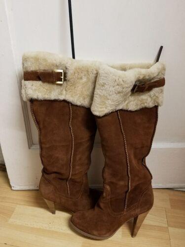 6 Charles cm3 Vgc Superbes avec taille David fourrure 450 chaussures Rrp 5 d'hiver 8xqwI0R