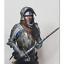 1-10-Knight-Bust-Resin-Figure-Model-Kit-Unassambled-Unpainted-NO-BASE thumbnail 1