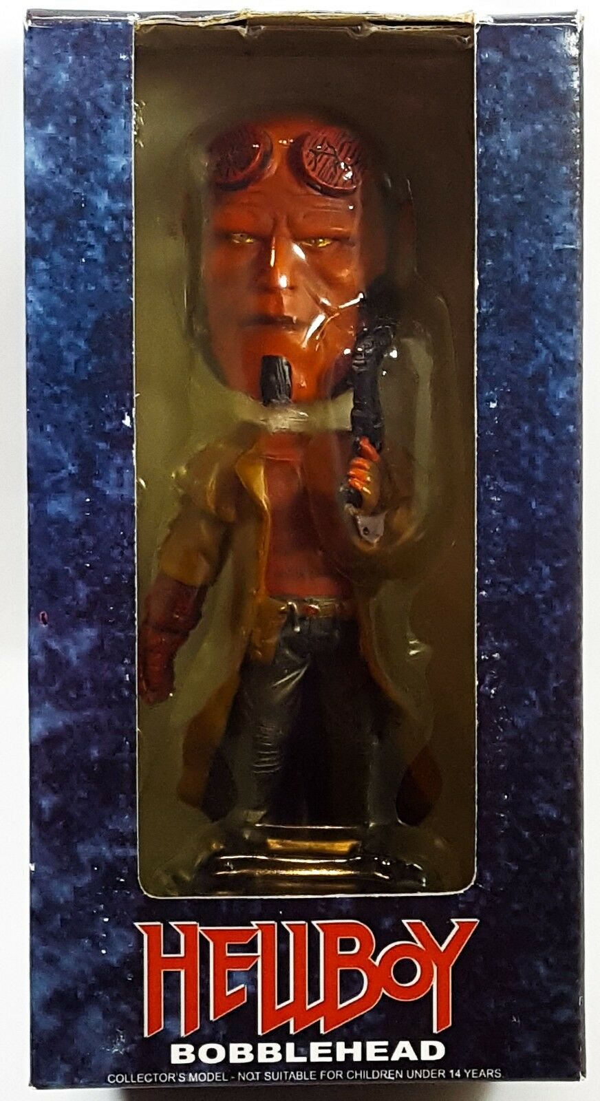 2007 HOLLYWOOD COLLECTIBLES grupo Hellboy 7  boblehead Menta en caja Sellado Raro Mignola