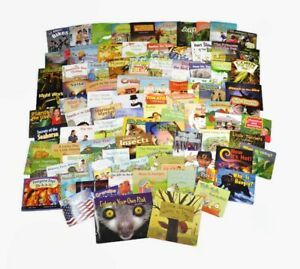 New-HMH-Into-Reading-RIGBY-PM-Leveled-Readers-Library-Grade-1-Level-C-K-90-Books