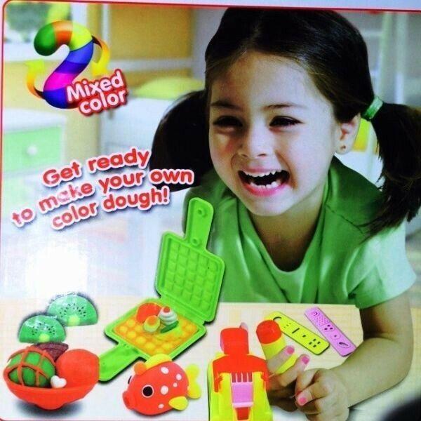 Color Dough Play Set