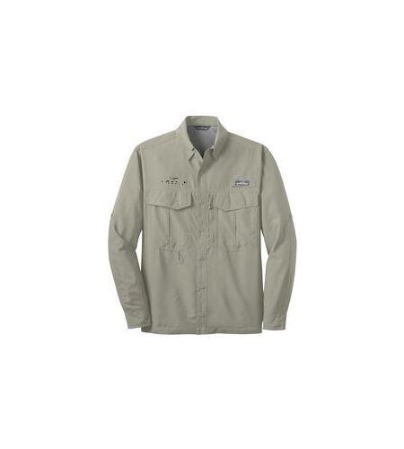 Carver Yachts Long Sleeve Eddie Bauer Fishing Shirt