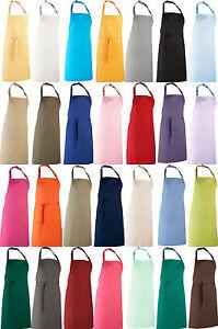 Schuerze-Kochschuerze-Latzschuerze-Arbeitskleidung-viele-Farben-sehr-Robust-PW150