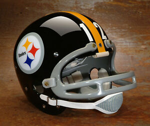 e8d45203 Details about Pittsburgh Steelers style NFL Vintage Football Helmet - TERRY  BRADSHAW 1976